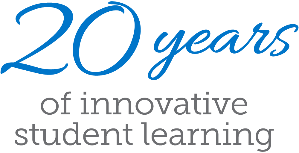 20 years of innovative student learning.