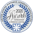 United States Distance Learning Association - Achievement in Distance Learning Awards 2020