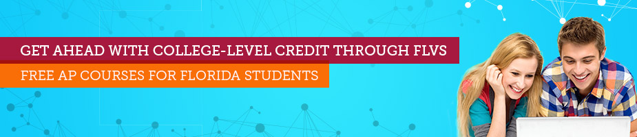 Get ahead with college-level credit through FLVS. Free AP courses for Florida students.