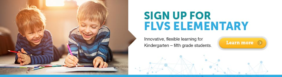 Sign up for FLVS Elementary