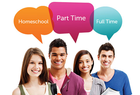 Homeschool, Part Time, Full Time