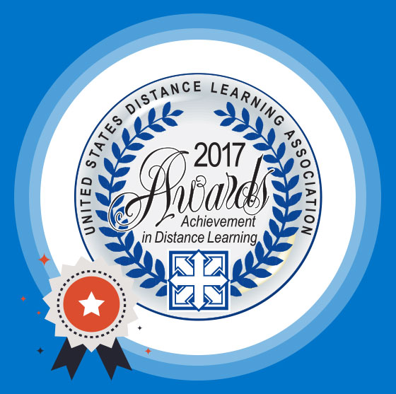 United States Distance Learning Association 2017 Achievement in Distance Learning Awards
